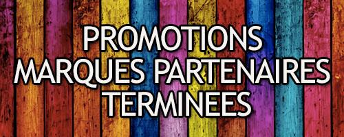 Promo partenaires Terminées
